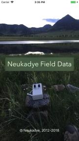 Field-Data-Launch-Screen