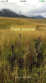 Field-Journal-Launch-Screen